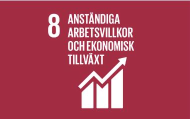 Mål 8_ anständiga arbetsvillkor och ekonomisk tillväxt